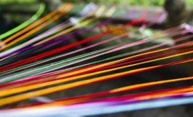 玉石林绳子艺术暨风车节活动美图