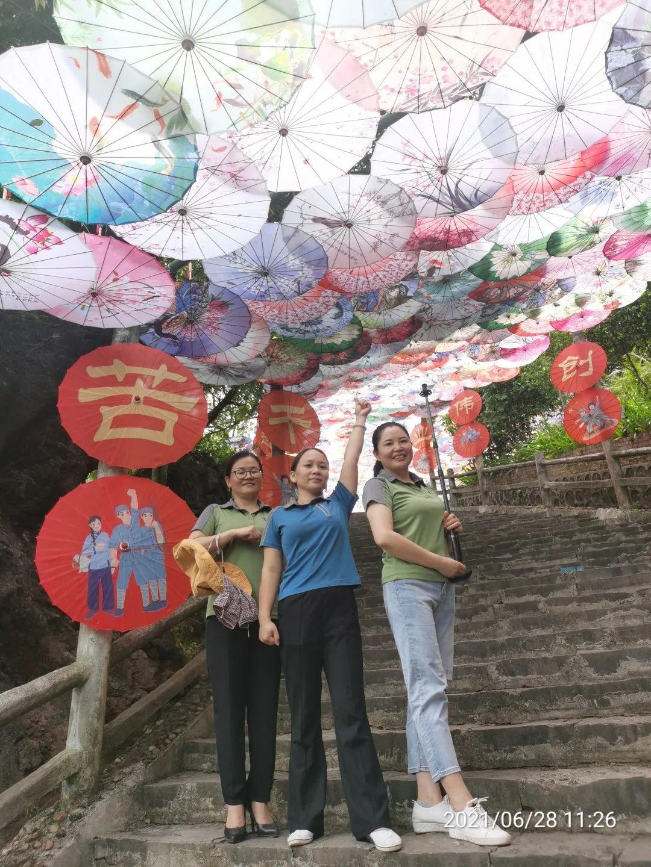 献礼建党100周年,党员免票参观玉石林多彩油纸伞节